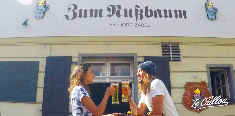 Drink a beer in one of the oldest pubs of Berlin, the Zum Nussbaum.