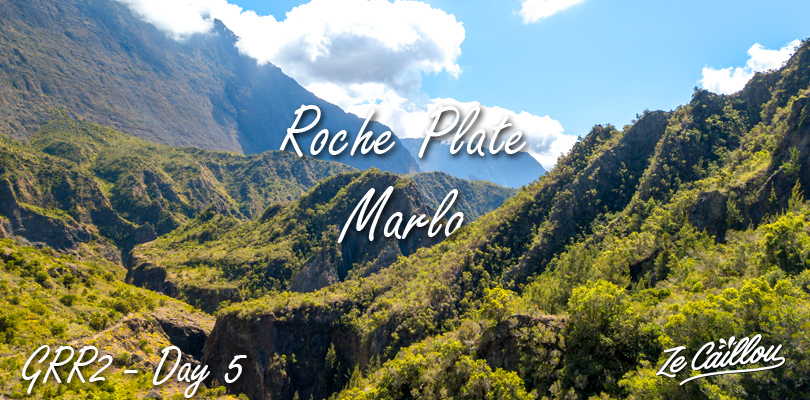 Roche Plate Marla hike during our grr2 day 5 in La Reunion.