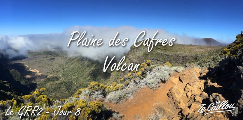 Bourg Murat Volcan, l'avant dernière étape de la grande randonnée du GRR2 à la Réunion.