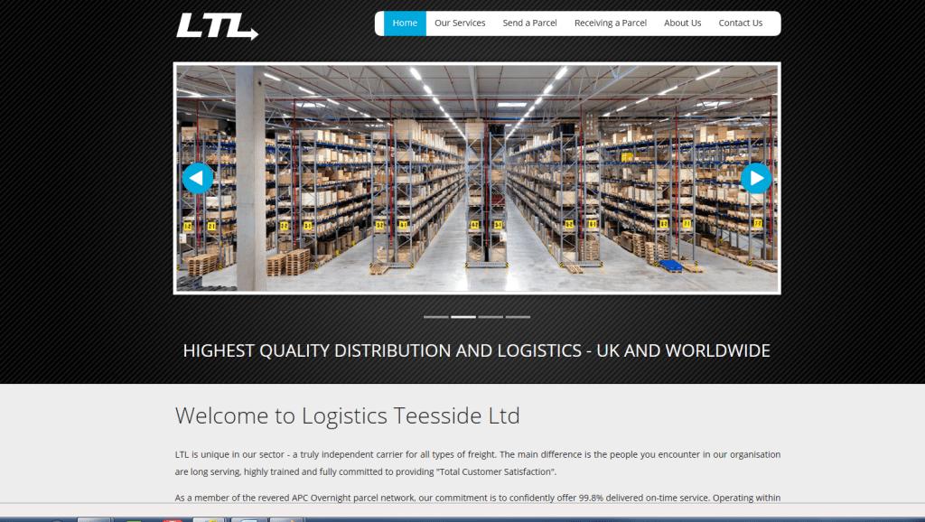 logistics teesside ltd site