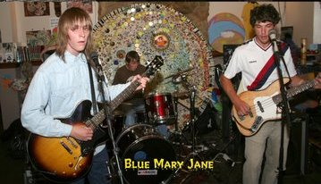 Blue Mary Jane