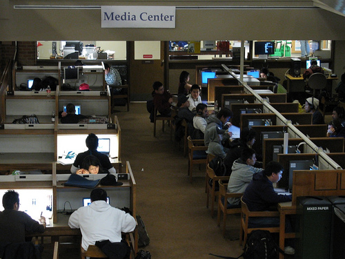 Odegaard media center