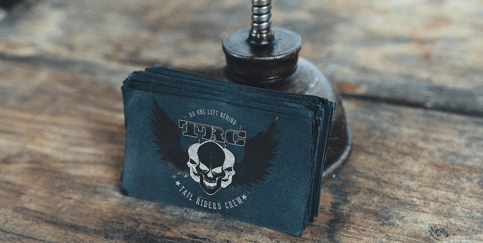 Tail Riders Crew Business Cards