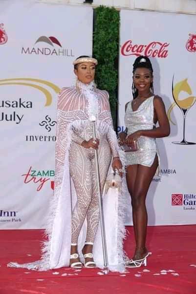 Bombshell Naked At Lusaka July