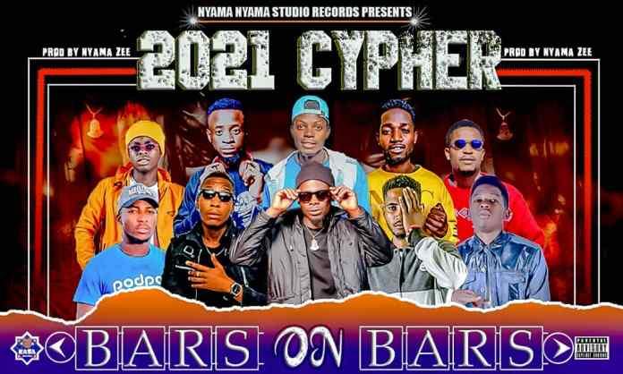Nyama Nyama, Pass, Bonyokani, JB Jones, Kasa Wamu GC, Tizo, Waga, Stepholic & Jay Lima - Bars On Bars 2021 Cypher
