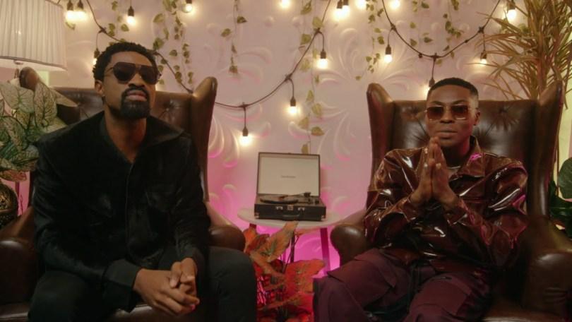 Ric Hassani ft. Reekado Banks - Here (Music Video)