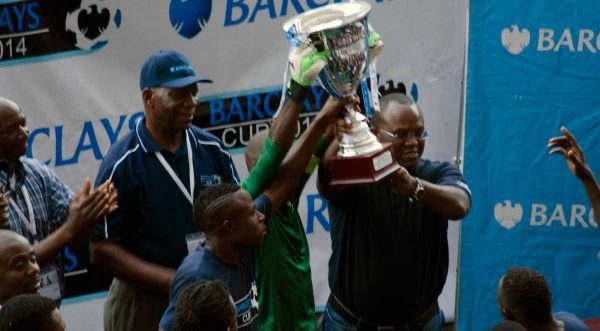 zesco united won the 2015 Barclays cup