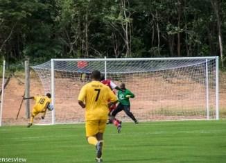 Irvin Chilufya at his football ground