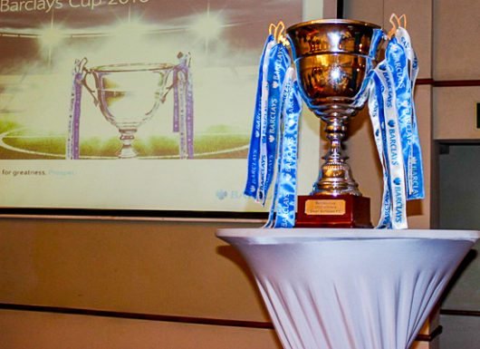 Zambia Barclays Cup 2016 trophy