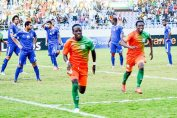 Clatous Chama of Zesco against Al Ahly