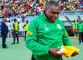 Zesco head coach George Lwandamina