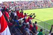 Fans in the Zambia super league