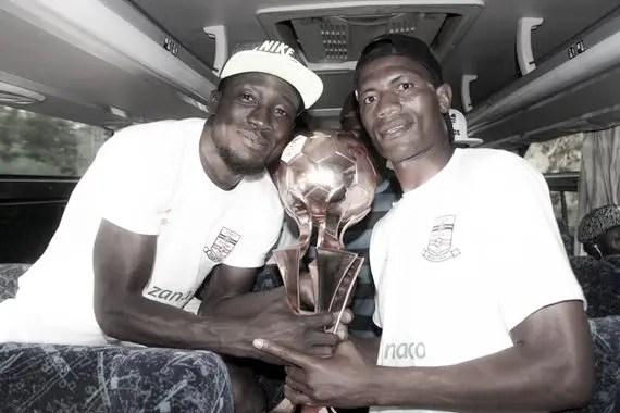Zambia player of the year Ziyo Tembo