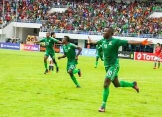 Zambia vs Egypt