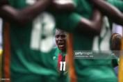 Tomorrow super football texture Costa Rica vs Zambia during U20 Fifa world Cup