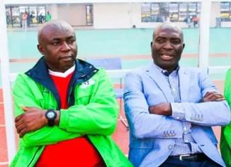 Coach Chiyangi and Wedson Nyirenda