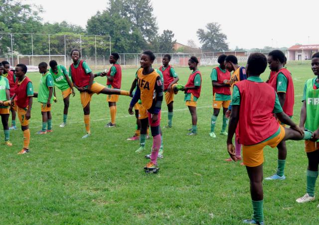 Zambia U-17 women's Shepolopolo football team
