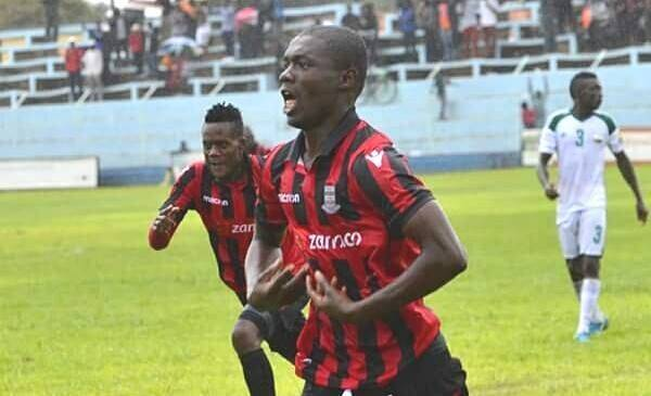 Martin Phiri first goal after joining Zanaco