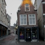 A crooked building in Utrecht.