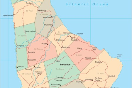 Best Home Design Map Of Barbados - Tourist map of barbados