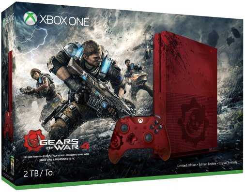 Xbox One S 2TB Gears of War 4 Bundle