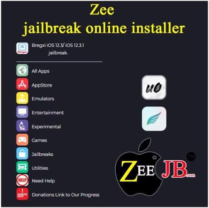Zee-Jailbreak AppStore, Zee Jailbreak Instraller