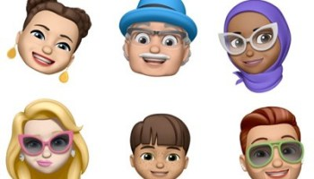 Memoji, Animoji, and other fun effects can be used both in Messages and with FaceTime through the new Effects camera. A Group FaceTime feature lets you video chat with up to 32 people at one time, but requires iOS 12.1.4 or later.