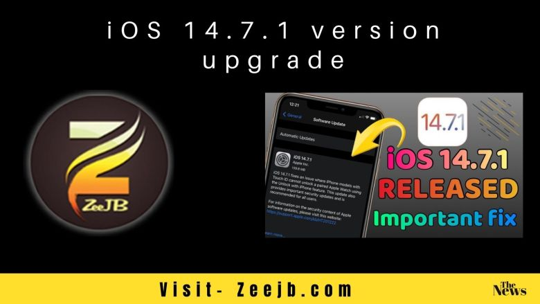 iOS 14.7.1 is Now Available – Update now to Fix Issues