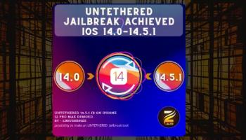 Untethered 14.5.1 JB on iPhone 12 Pro Max demoed. 🔥🔥
