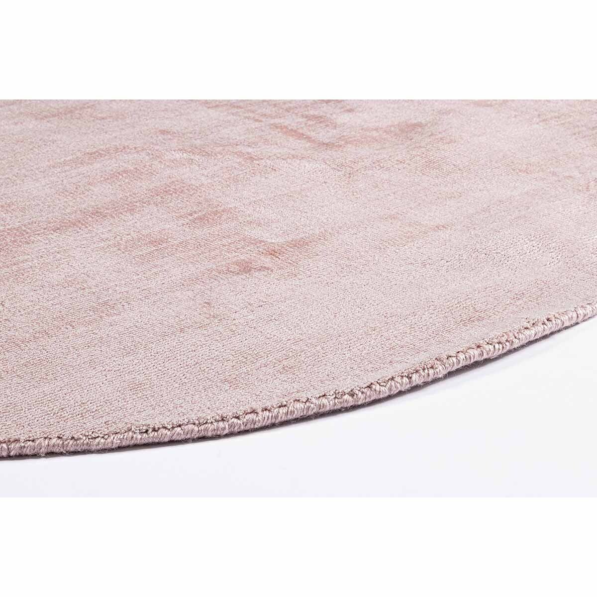 tapis rond cottage rose d120 bizzotto
