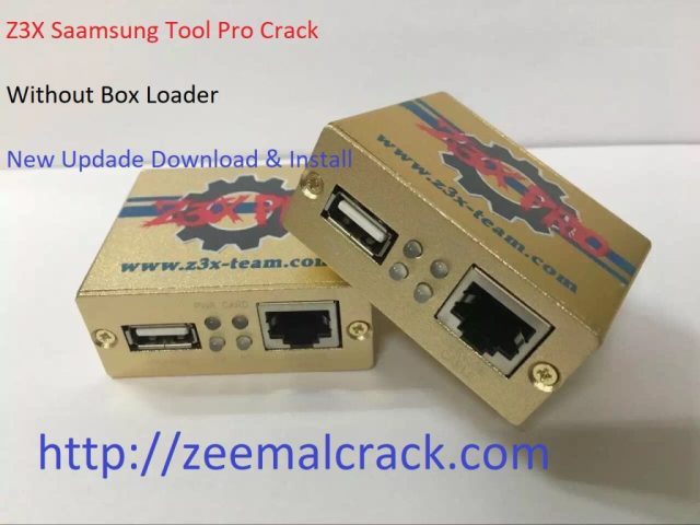 Z3X Samsung Tool Without Box