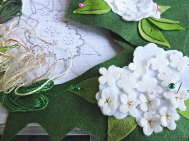 elderflower design taking shape