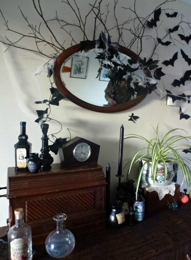 Halloween altar