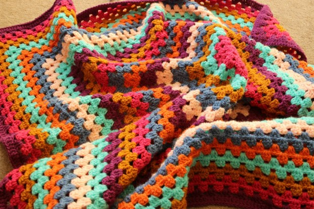 Bright Baby Crochet Blanket