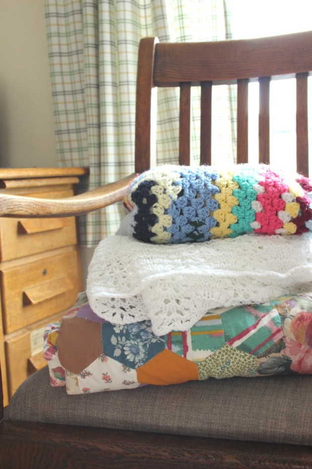 Nanna's handmade blankets