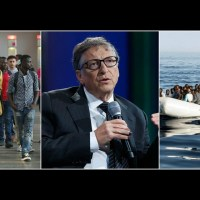 Bill Gates warns that Germany's open door policy to migrants will overwhelm Europe and urges leaders to 'make it more difficult for Africans to reach the continent via current routes'