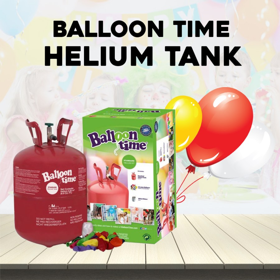 Balloon time Helium Tank For Party & Occasions - Online Shopping in Dubai,  Abu Dhabi , United Arab Emirates