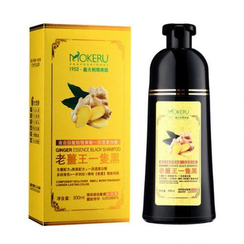 MOKERU Ginger Essence Black Shampoo