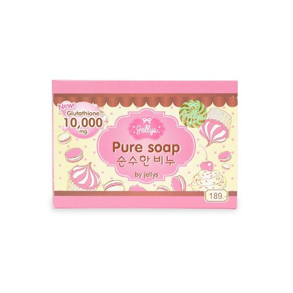 Jellys Pure Whitening Soap, Thailand