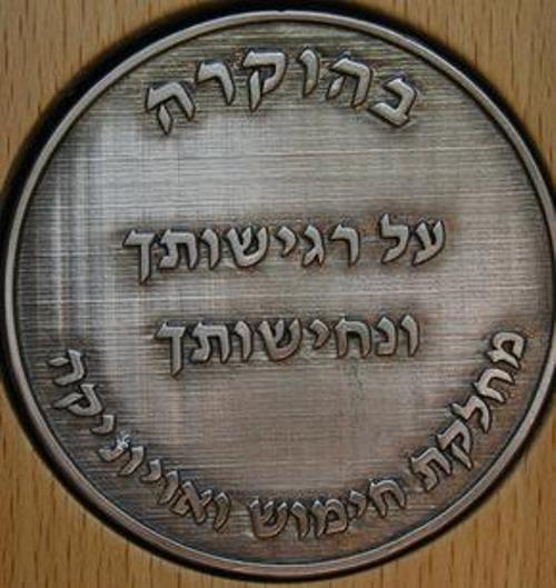 המדליה שהוענקה למשתתפי החורבן