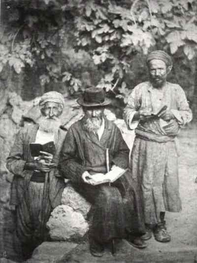 יהודים בירושלים 1895