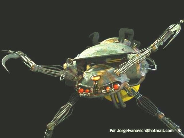רובוט מן הסרט מטריקס