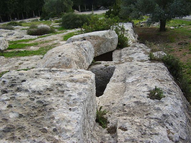 קברות המקבים ביער בן שמן צילום אבישי טייכר ויקיפדיה העברית