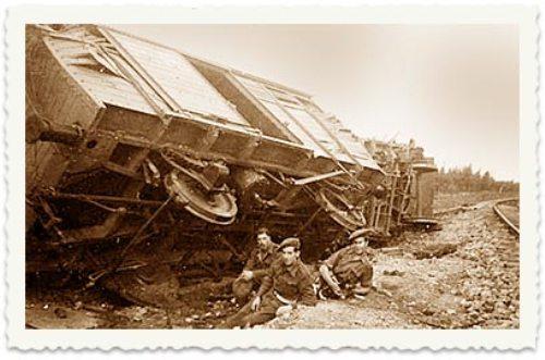 מפעולות המחתרות: חבלה ברכבות