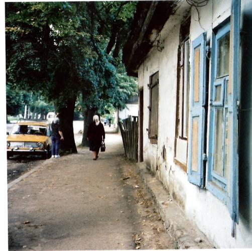 בית ביאליק בז'יטומיר (צילום באדיבותו של יואל רפל)