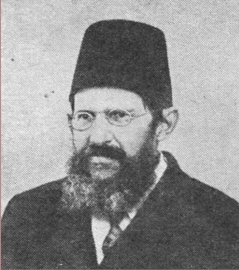 """ישראל דב פרומקין עורך ה""""חבצלת"""" מ-1868 עד 1911"""