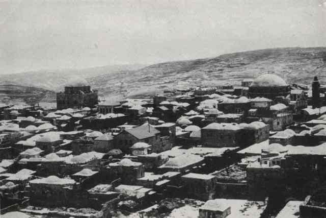 הרובע היהודי בירושים 1877