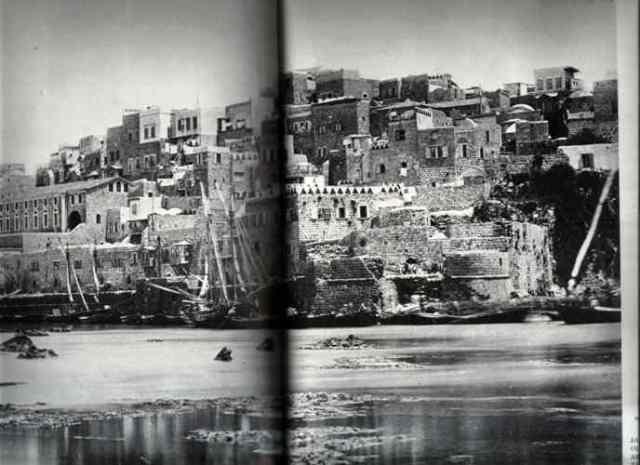 נמל יפו 1877