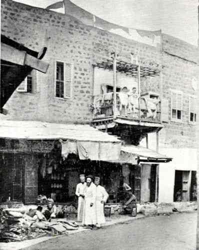 יהודים בטבריה 1895