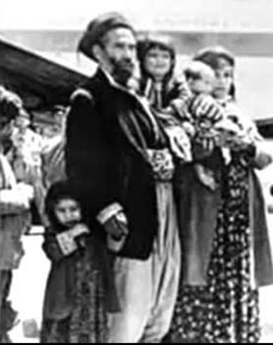 משפחה יהודית בעיראק 1948